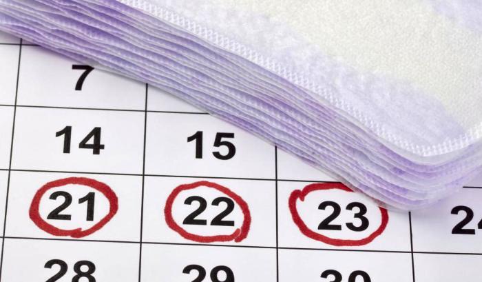 месячный календарик