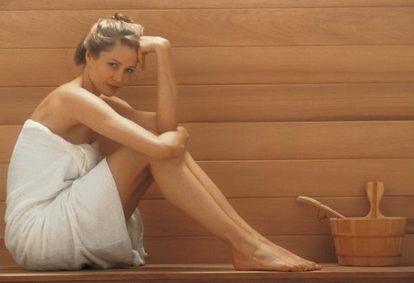 Как при миоме париться в бане