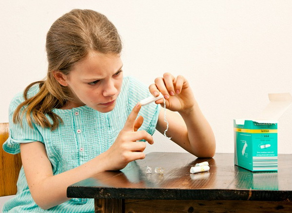 Средства гигиены для девочек
