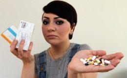 девушка лекарства